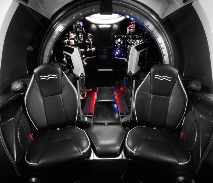 Super Yacht Sub 3 interior